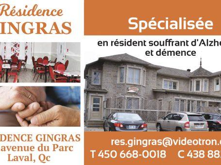 Résidence Gingras